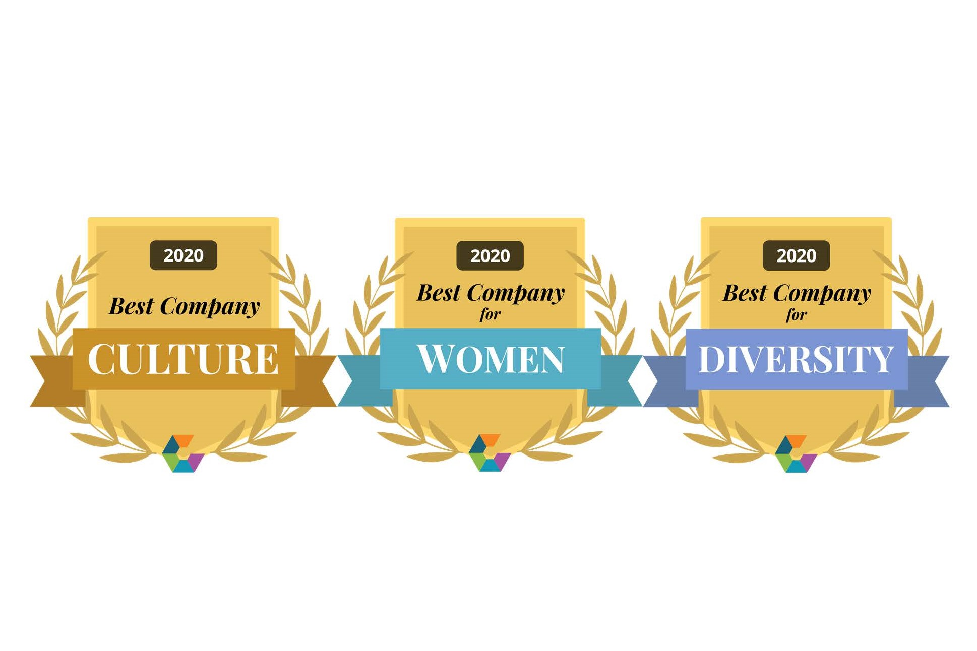 Comparably awards culture women diversity