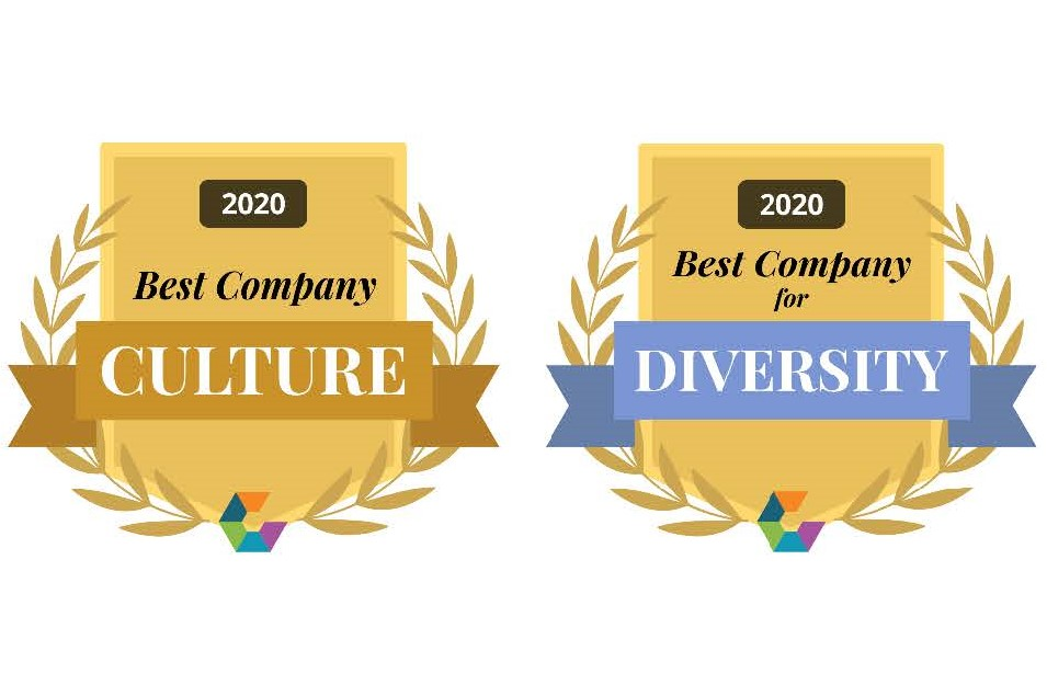 comparably awards culture diversity