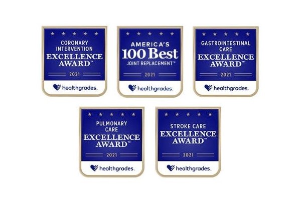 Healthgrades clinical excellence award